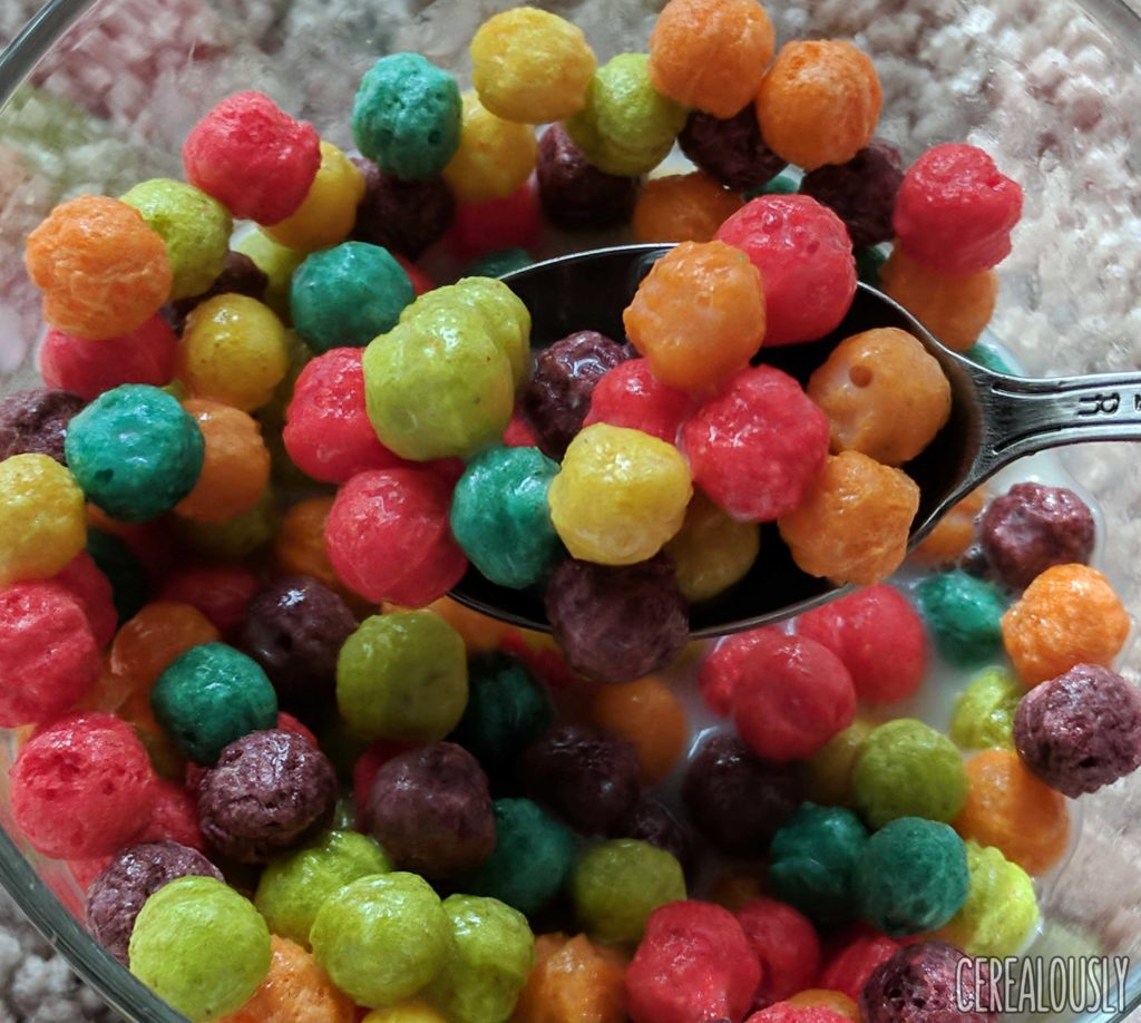General Mills Classic Trix Cereal Review with 6 Colors with Milk