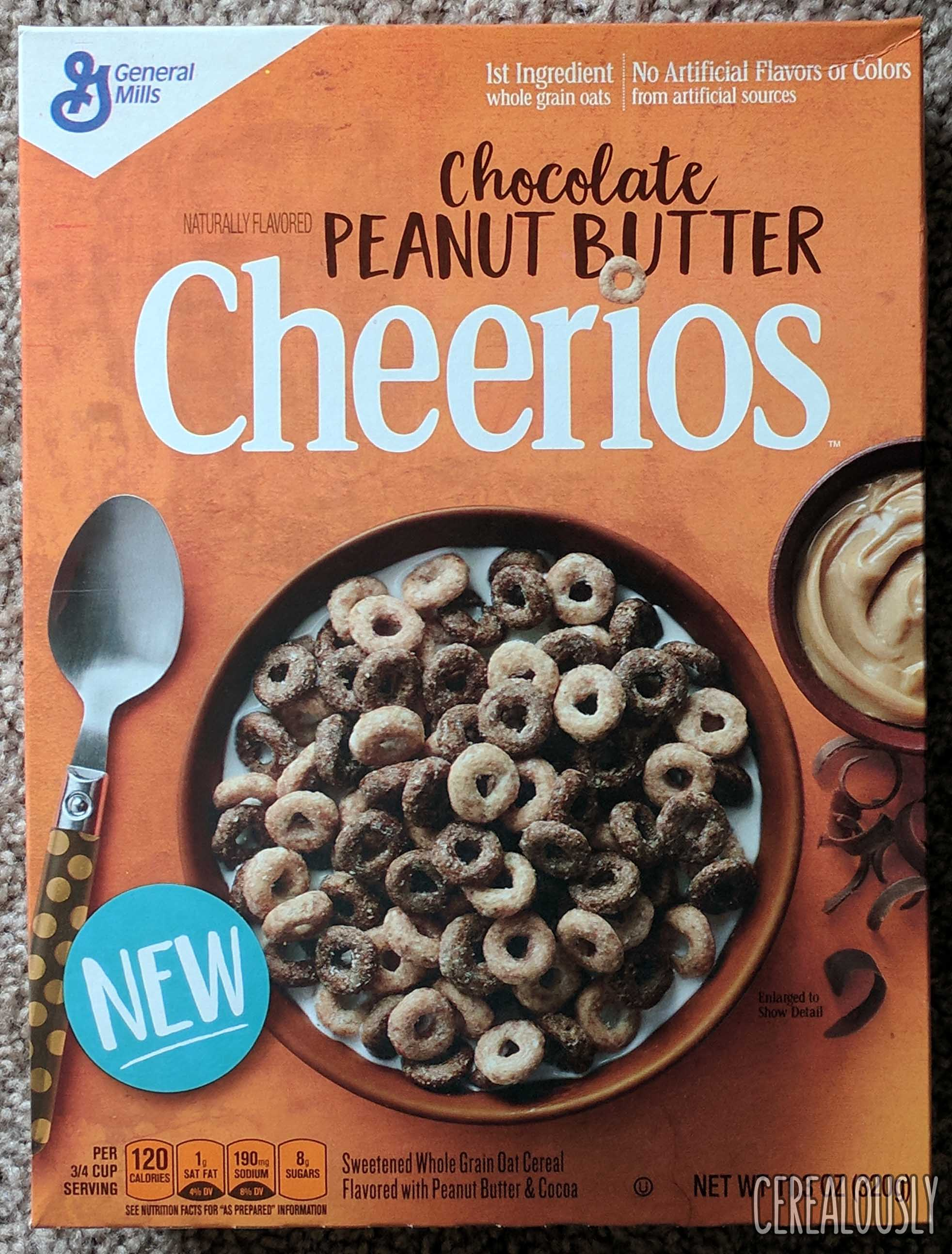 Chocolate Peanut Butter Cheerios Cereal