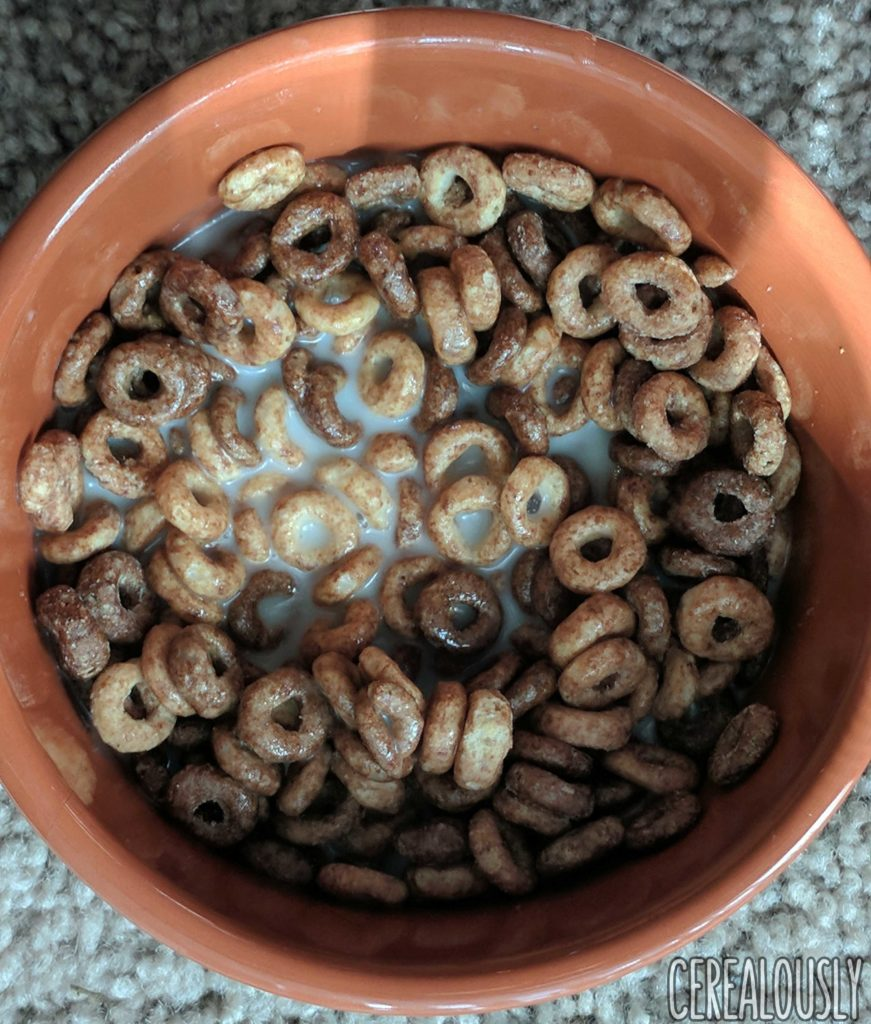 General Mills Limited Edition Chocolate Peanut Butter Cheerios Cereal Review with Milk