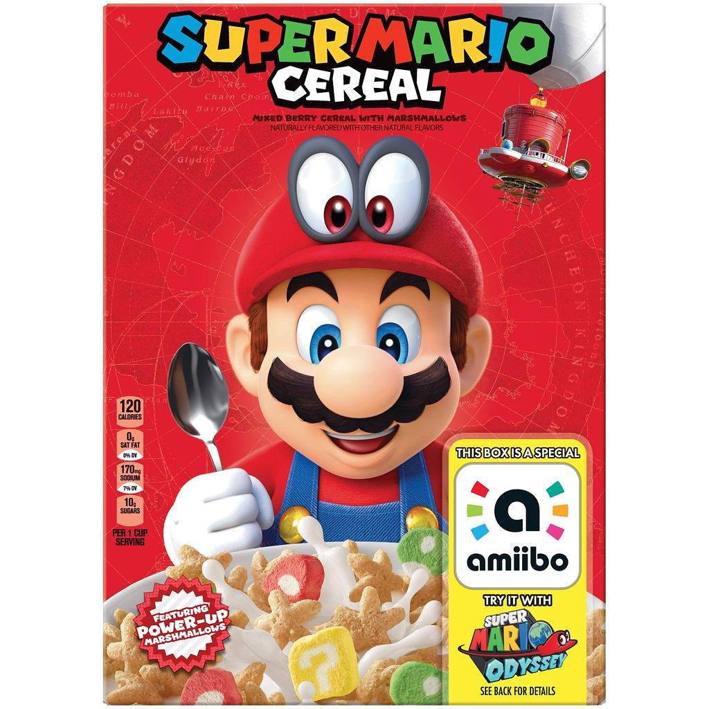 Kellogg's Super Mario Cereal Box (Rumored)