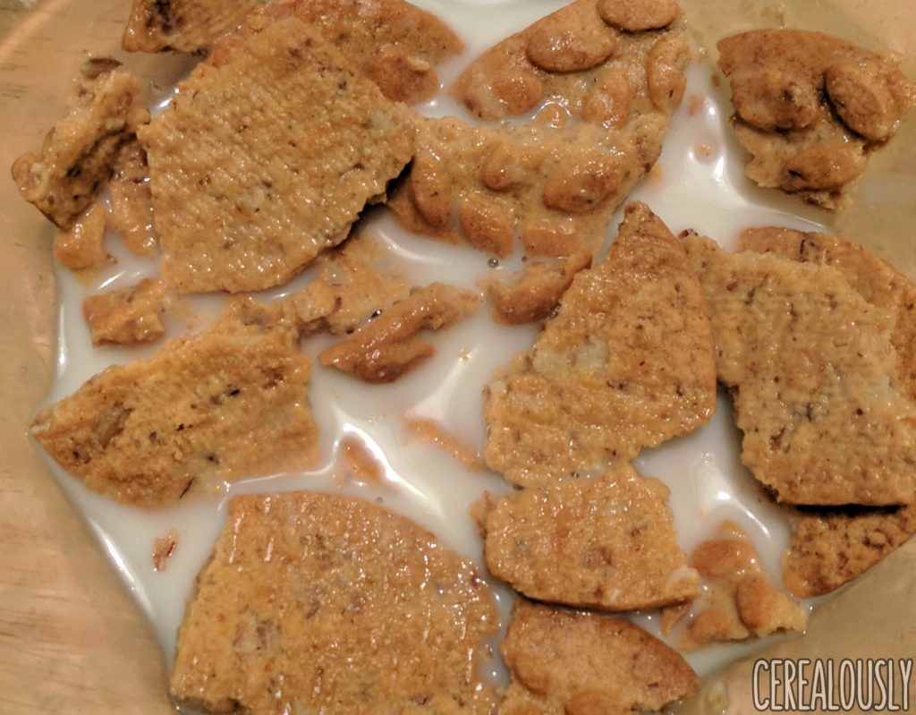 belVita Gingerbread Breakfast Biscuits Review Holiday with Milk