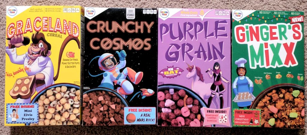 Cereal Time Cereals from Gabe Fonseca
