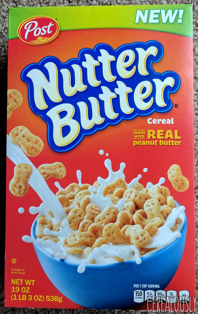 Post Nutter Butter Cereal Review Box