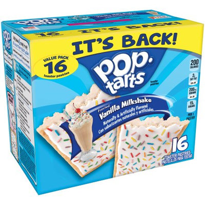 Vanilla Milkshake Pop-Tarts are Back for 2018