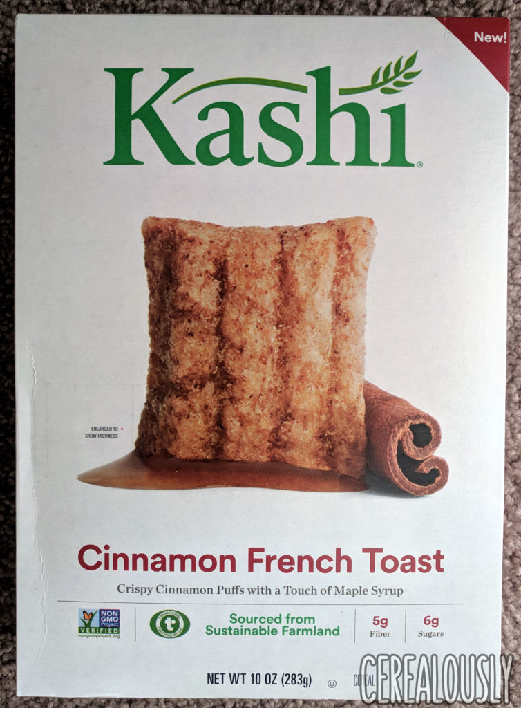 Kashi Cinnamon French Toast Cereal Review Box