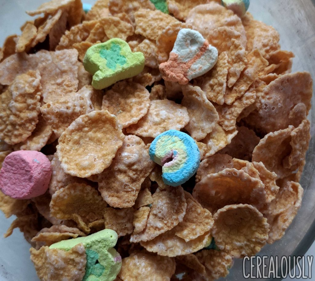 General Mills New Lucky Charms Frosted Flakes Review
