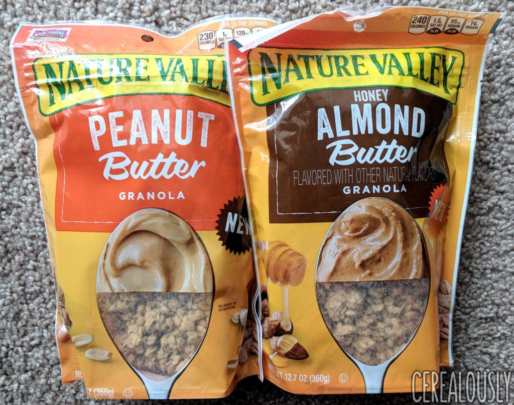 Nature Valley Nut Butter Granolas Review