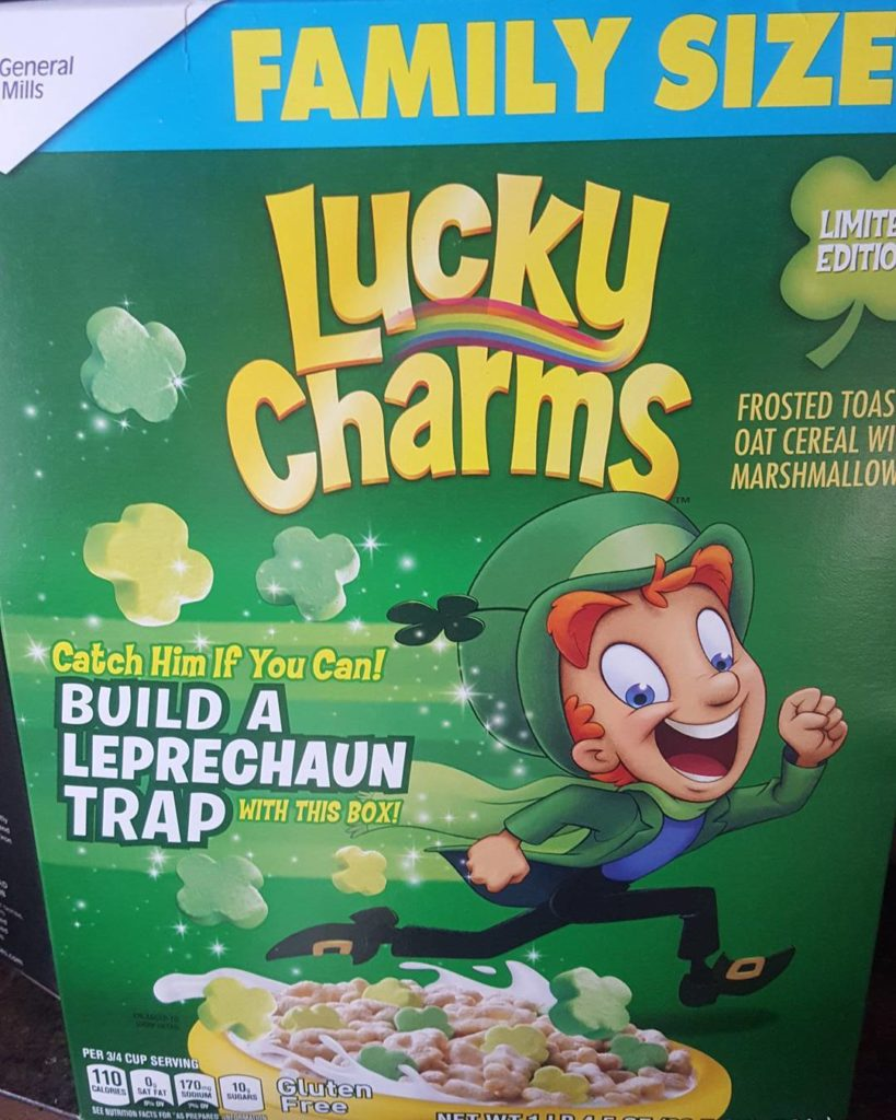 St. Patrick's Day Lucky Charms 2018