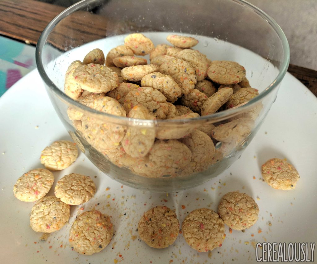 Review: Birthday Cake Cookie Crisp Cereal