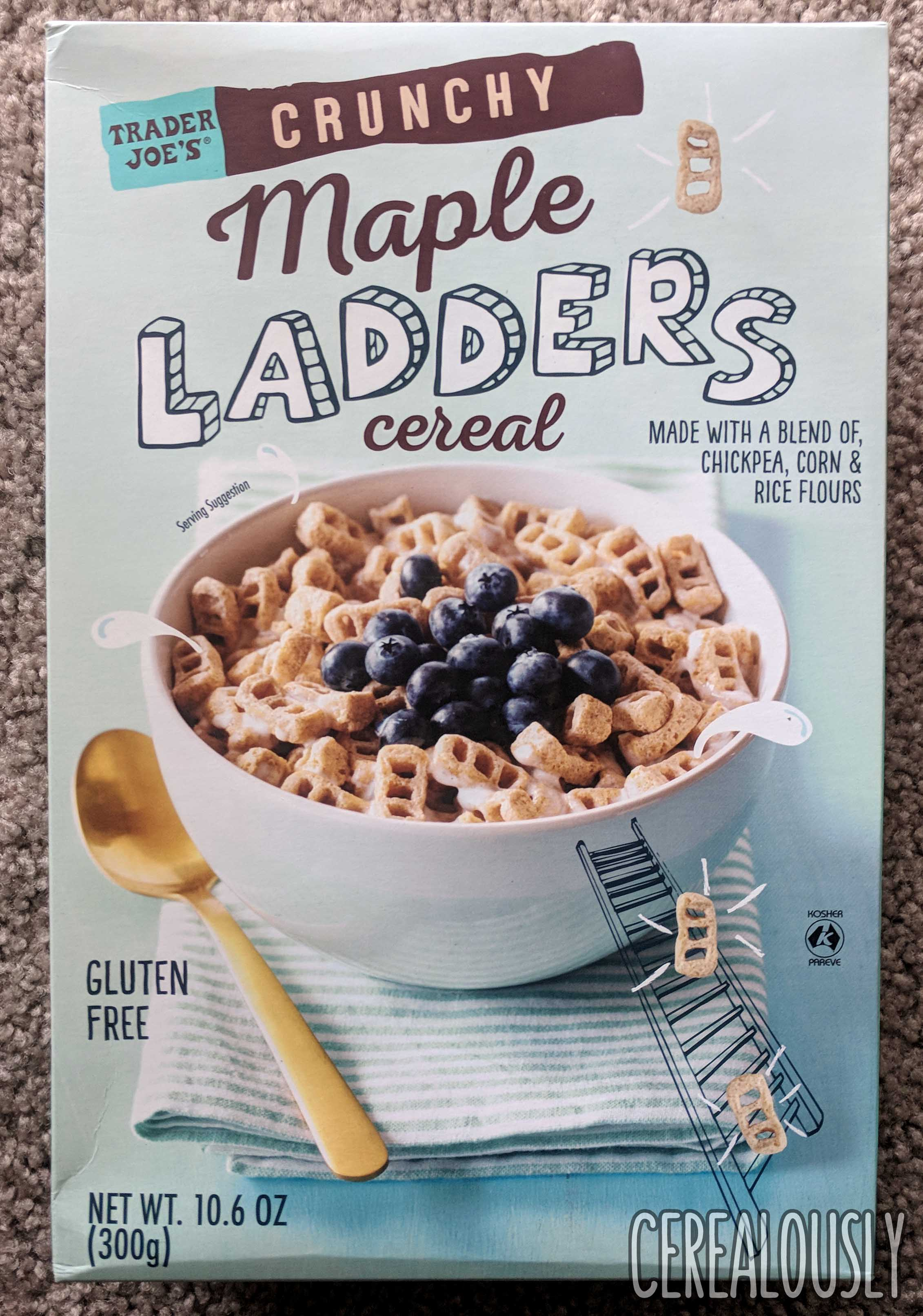 Review Trader Joes Crunchy Maple Ladders Cereal