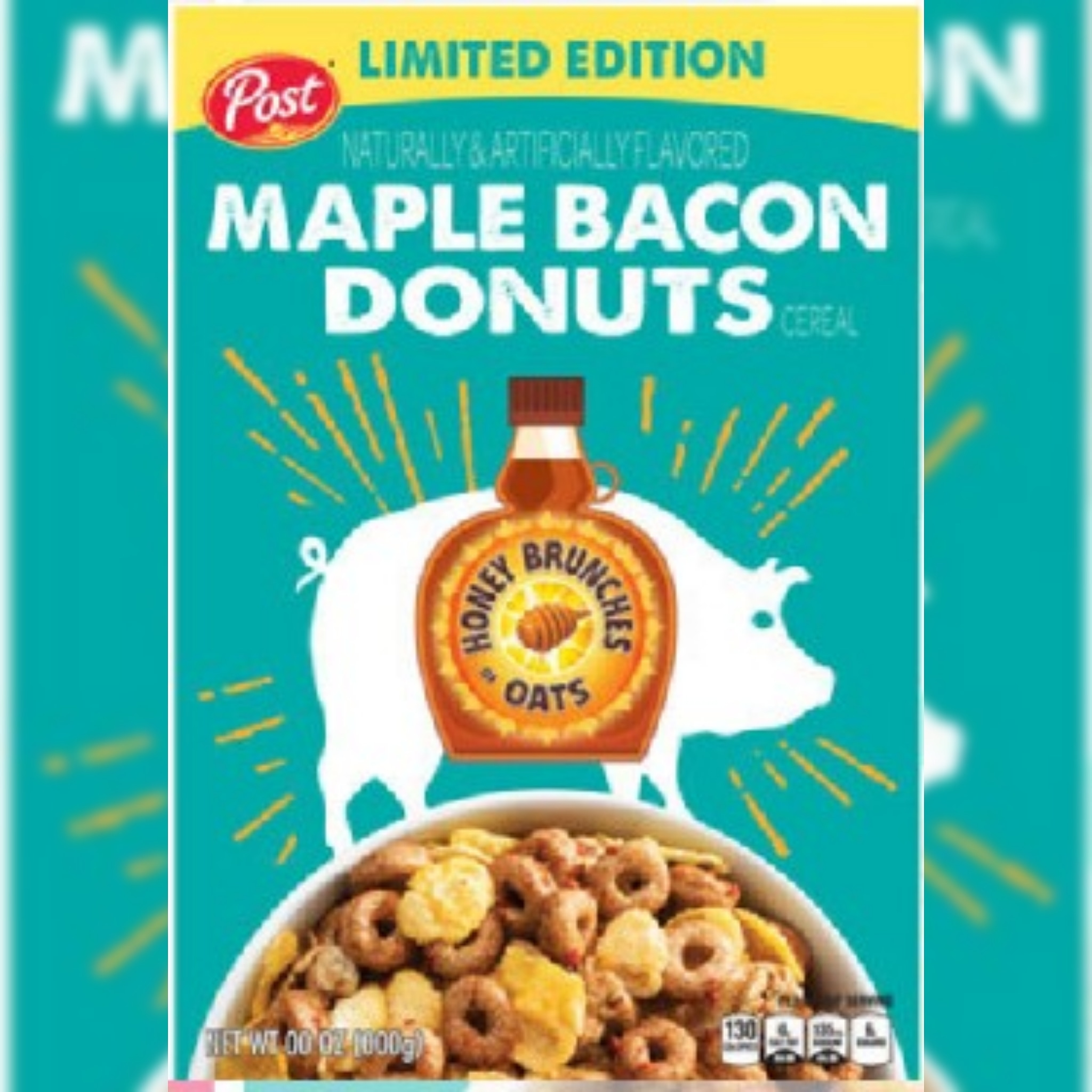News: Maple Bacon Donuts Cereal Is Coming For National