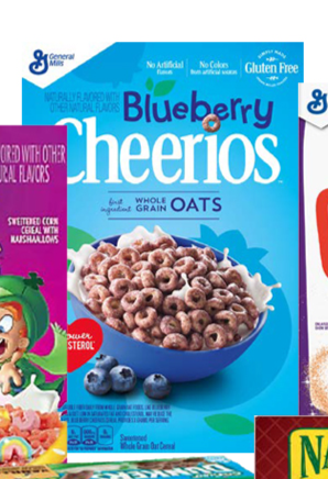 New Blueberry Cheerios Cereal 2019