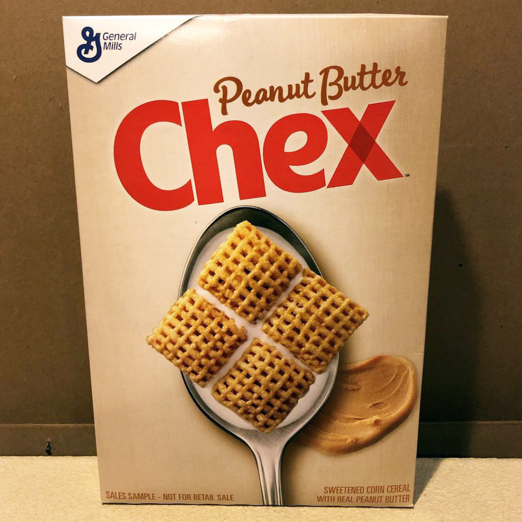 Spooned & Spotted: Peanut Butter Chex & Mermaid Cereal