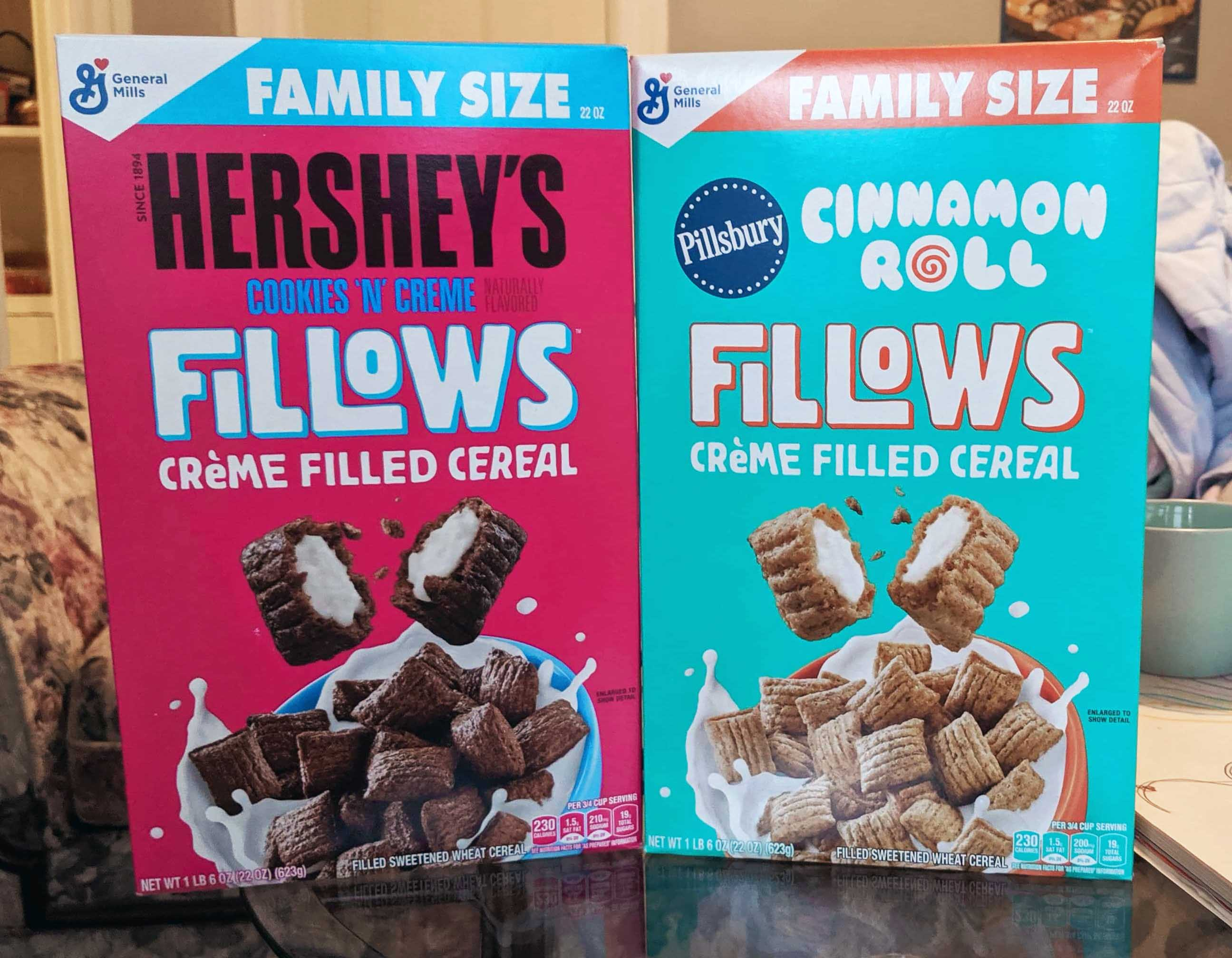 New Fillows Cereal Review Hershey S Cookies N Creme