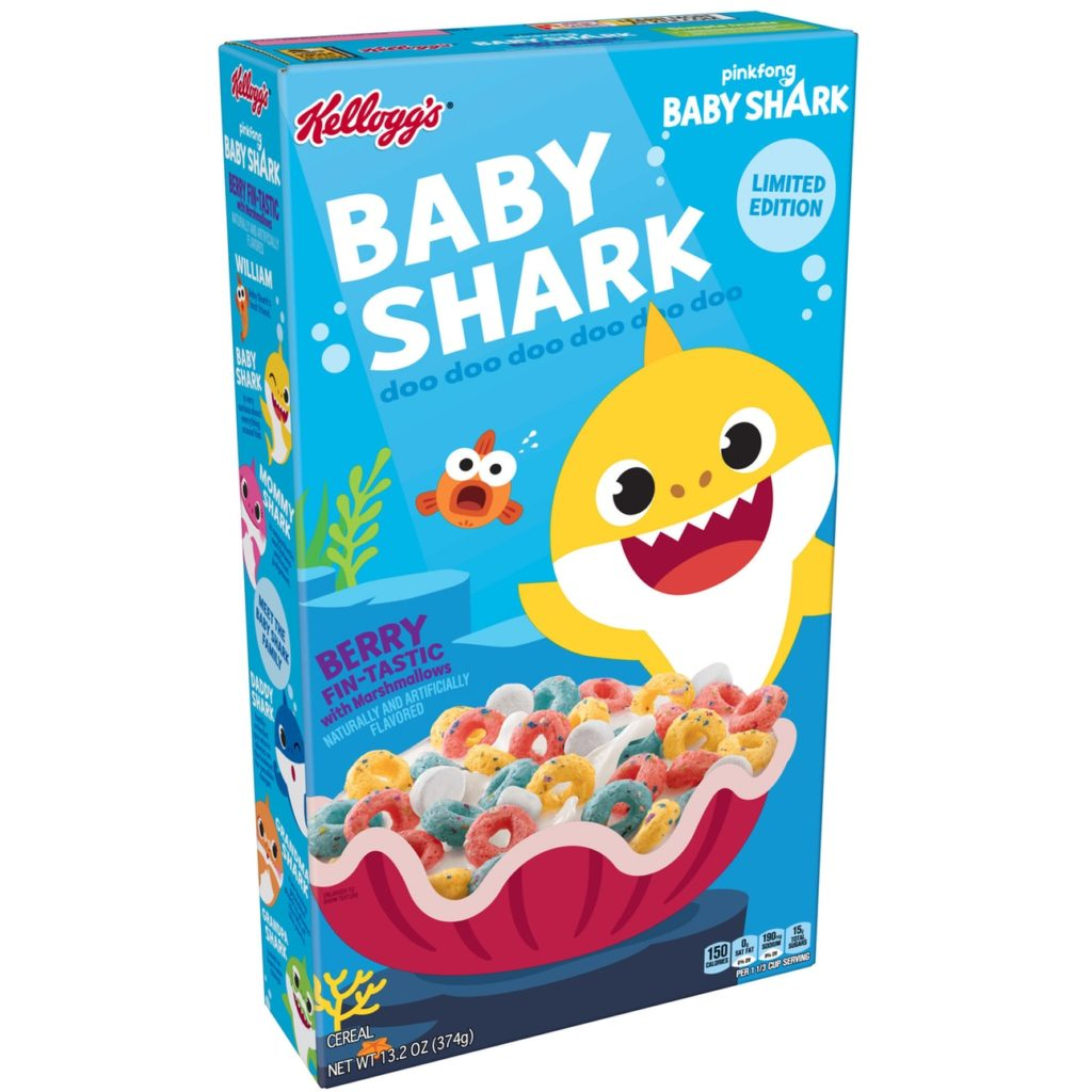 News: Kellogg's Baby Shark Cereal