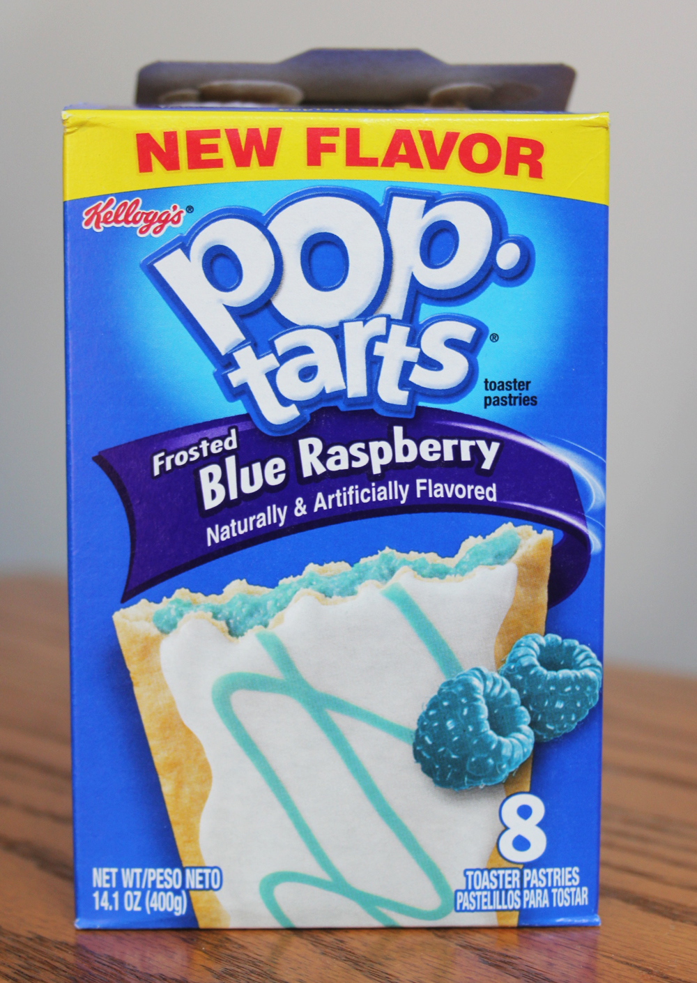 Review: Frosted Blue Raspberry Pop-Tarts