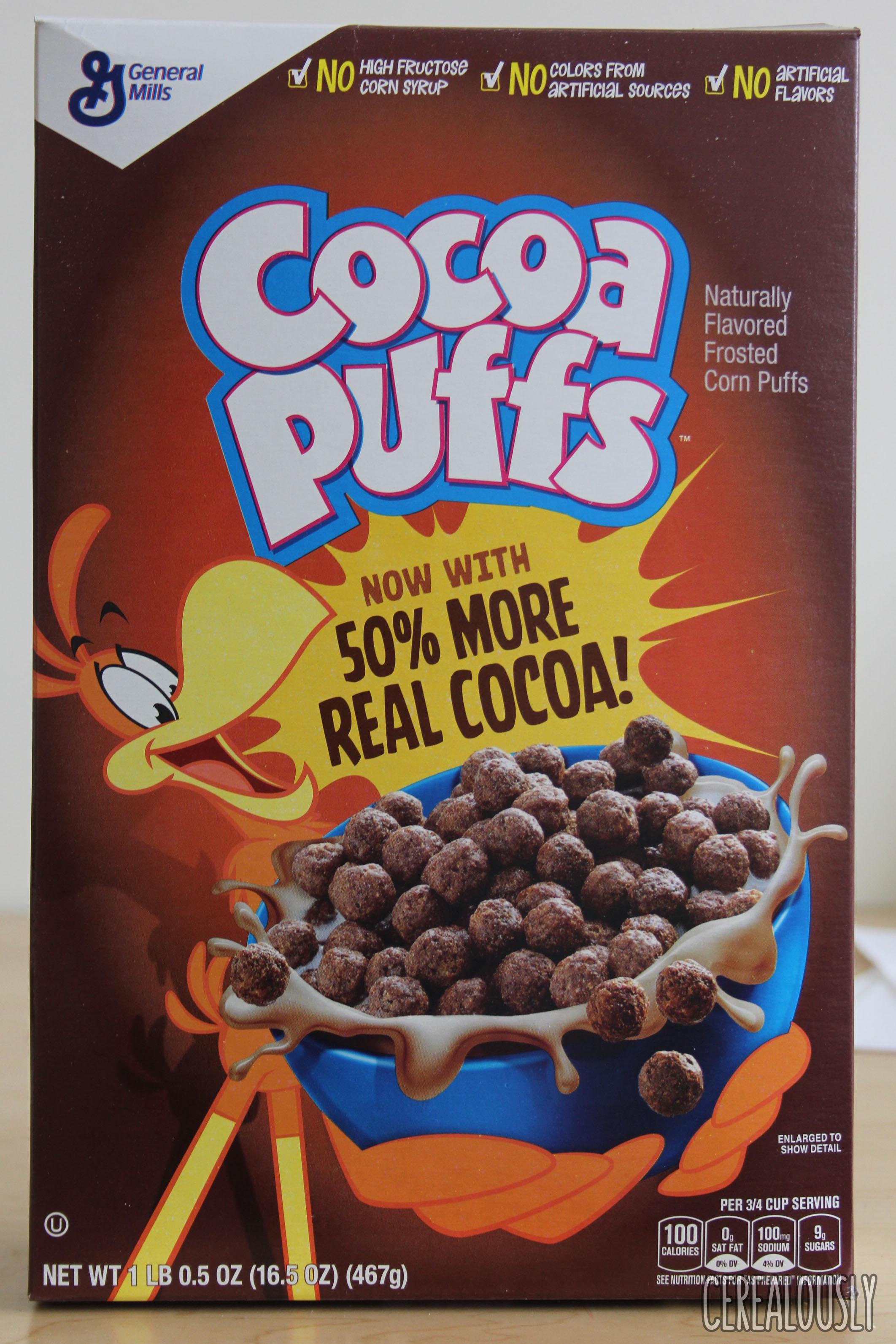 General Mills Cocoa Puffs Cereal - 16.5 OZ PrestoFresh ... |Cocoa Puffs Cereal