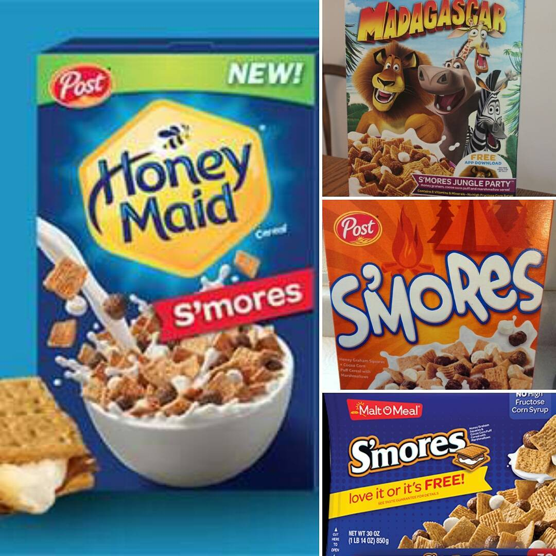 News: Honey Maid S'mores Cereal Keeps The Flame Alive