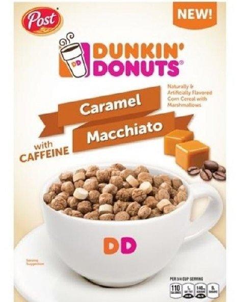 News: Post & Dunkin' Donuts Caramel Macchiato Cereal Will