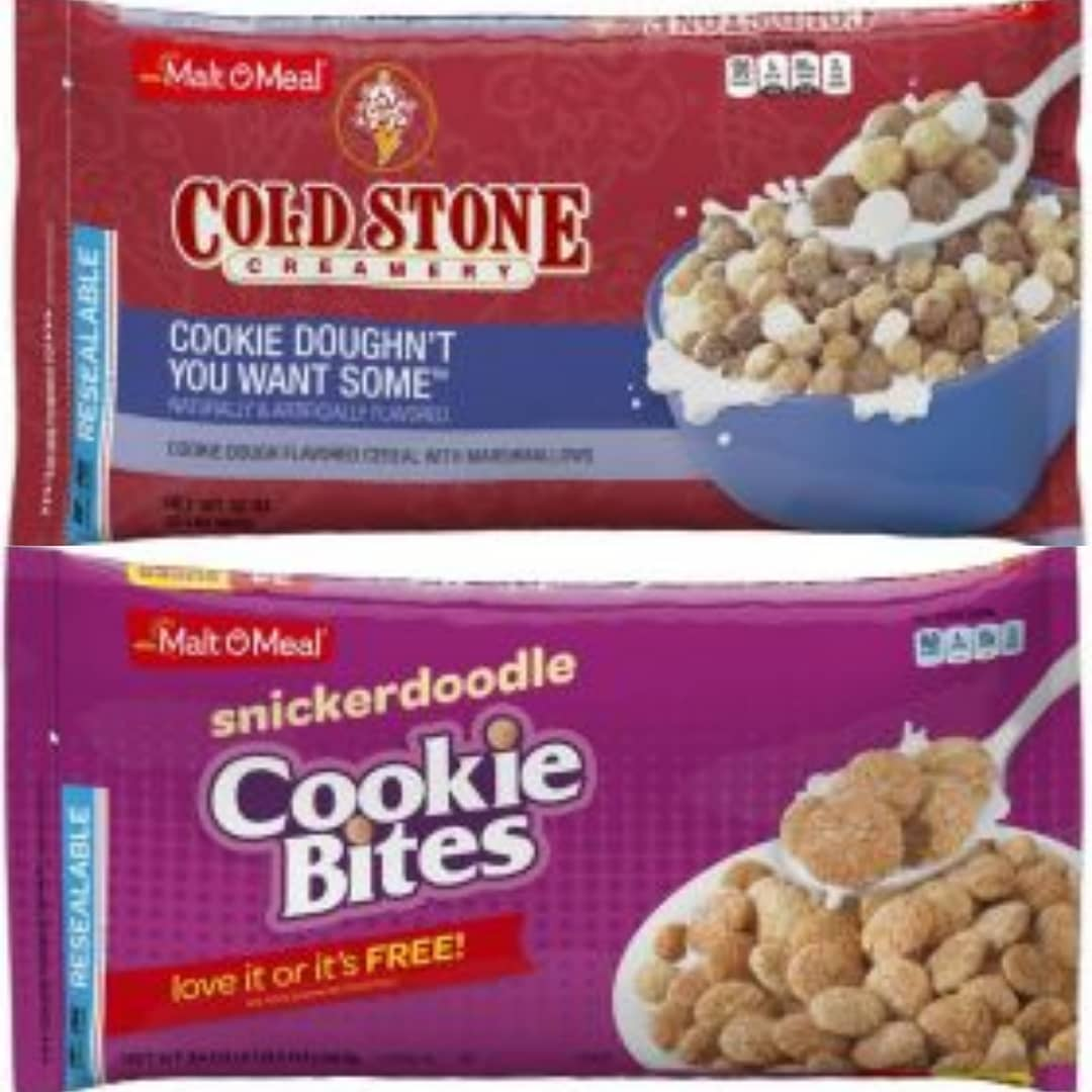 News: Two New Malt-O-Meal Cookie Cereals